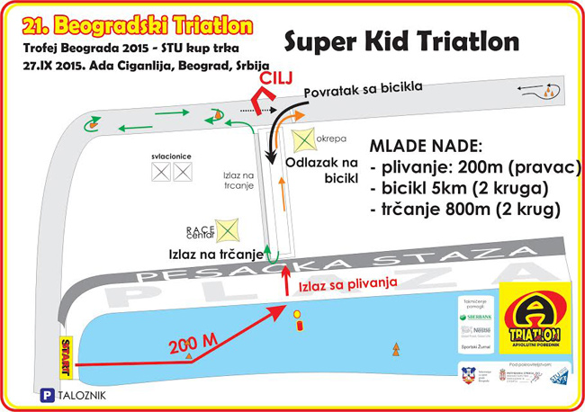 Super kid triatlon