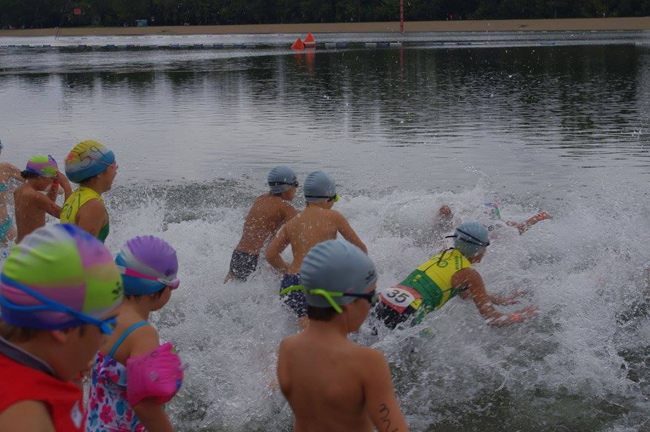 Mini triatlon