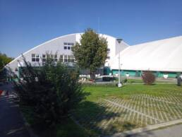 Hala sportova Žarkovo (glavni ulaz)